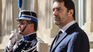 Christophe Castaner le 13 mars 2020 à Paris.
