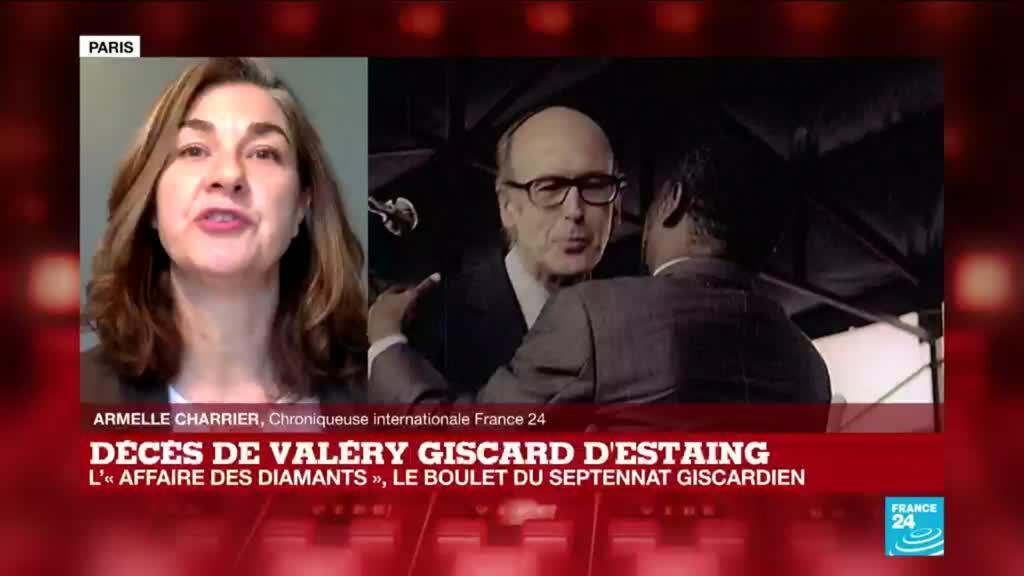 2020-12-03 11:09 Décès de Valéry Giscard D'Estaing : l'affaire des diamants de Bokassa, le boulet de son septennat