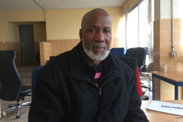 Bakary Cissokho, le président du comité des résidents du foyer