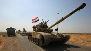 تصعيد عسكري بين القوات العراقية والكردية.