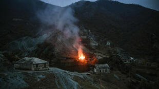 Some people in Kalbajar have burned their homes rather than leave them for Azerbaijani forces to take over