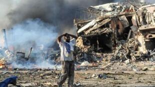 عملية تفجير في العاصمة مقديشو، 2017