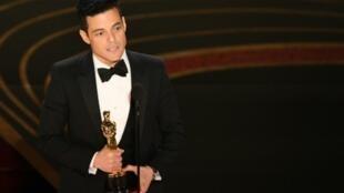 رامي مالك يتوج بجائزة أوسكار