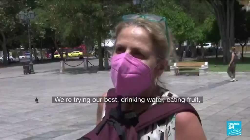 2021-08-03 08:09 Greece suffering worst heatwave for three decades