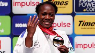 La judoka tricolore Clarisse Agbegnenou a remporté une quatrième couronne mondiale, mercredi à Tokyo.