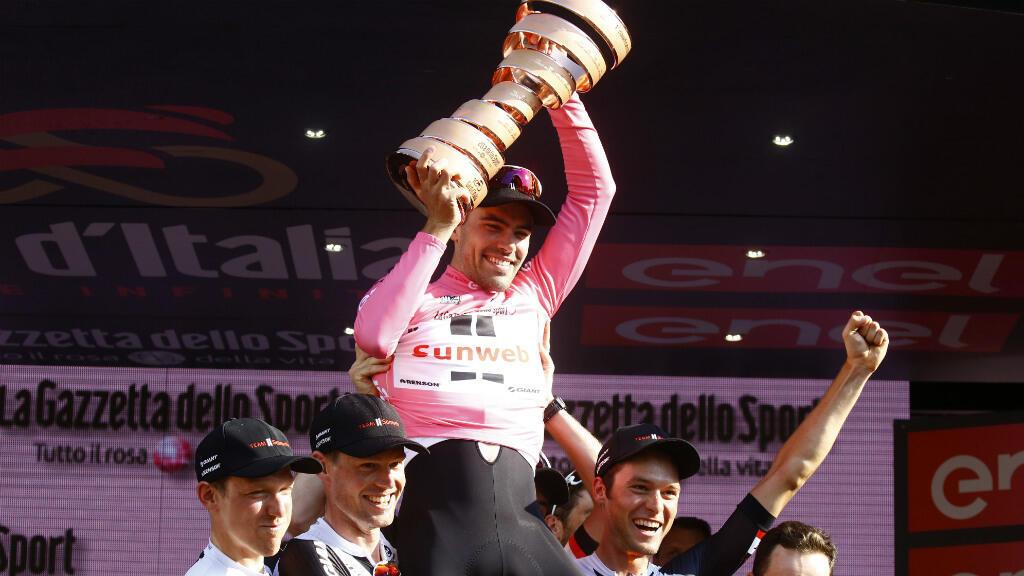 Tom Dumoulin remporte le 100e Tour d'Italie