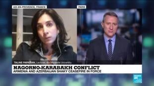 2020-10-10 21:00 Nagorno-Karabakh conflict : Armenia and Azerbaijan shaky ceasefire in force