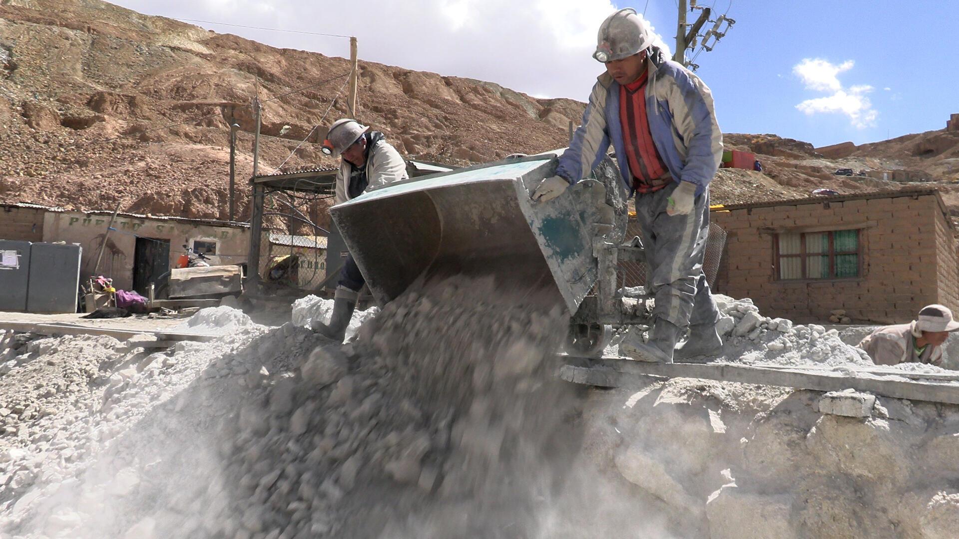 Mineros del Cerro Rico de Potosí