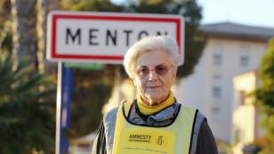Martine Landry est observatrice d'Amnesty International à la frontière avec l'Italie depuis 2011.