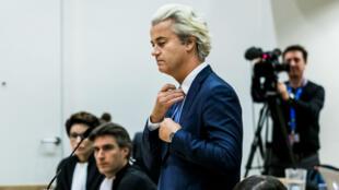 Le parquet avait requis contre Geert Wilders une amende de 5000 euros mais pas de peine de prison.