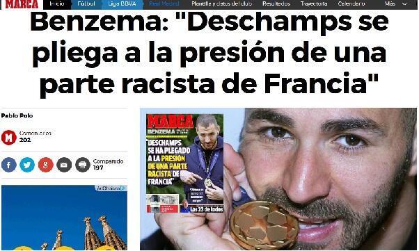 """حوار كريم بنزيمة مع صحيفة """"ماركا"""" الإسبانية الرياضية"""