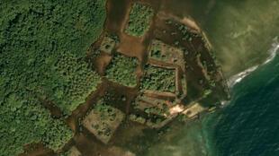 La cité en ruines de Nan Madol, au beau milieu de l'océan Pacifique.