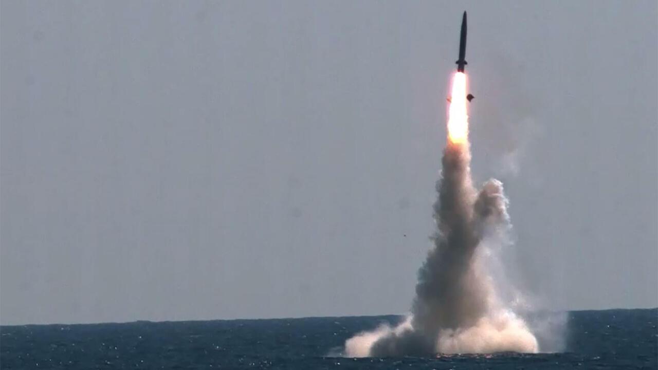 North Korea fires short-range missile into sea, accuses US of 'hostility'