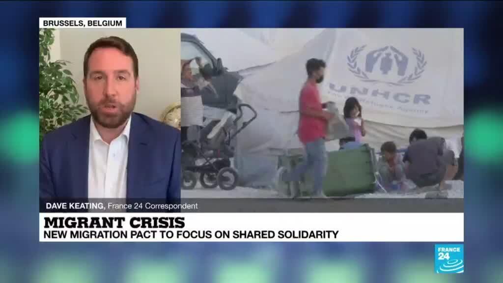 2020-09-23 12:01 Migrant crisis: EU to unveil long-delayed asylum plan to share responsibility