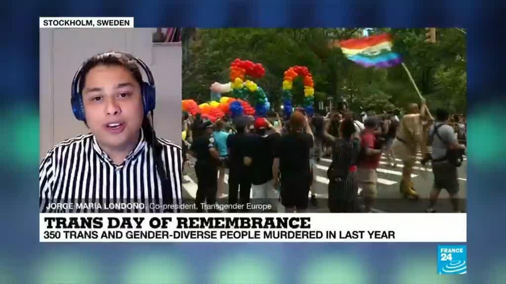 2020-11-20 22:36 Trans day of remembrance : 350 trans and gender-diverse people murdered in 2020