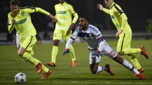 Impuissants, les Lyonnais ont été battus par La Gantoise chez eux, à Gerland (1-2).