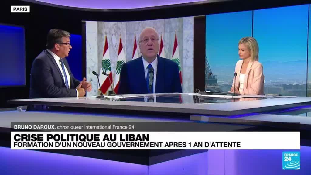 """2021-09-10 18:33 Nouveau gouvernement au Liban : """"Les défis sont énormes, d'abord économiques et sociaux"""""""