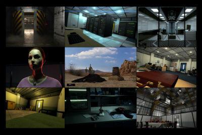 """Des images tirés du jeu """"The Assembly"""""""