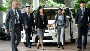 التحضير لقمة سنغافورة