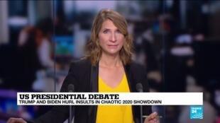 2020-09-30 11:01 Trump and Biden hurl insults in first presidential debate