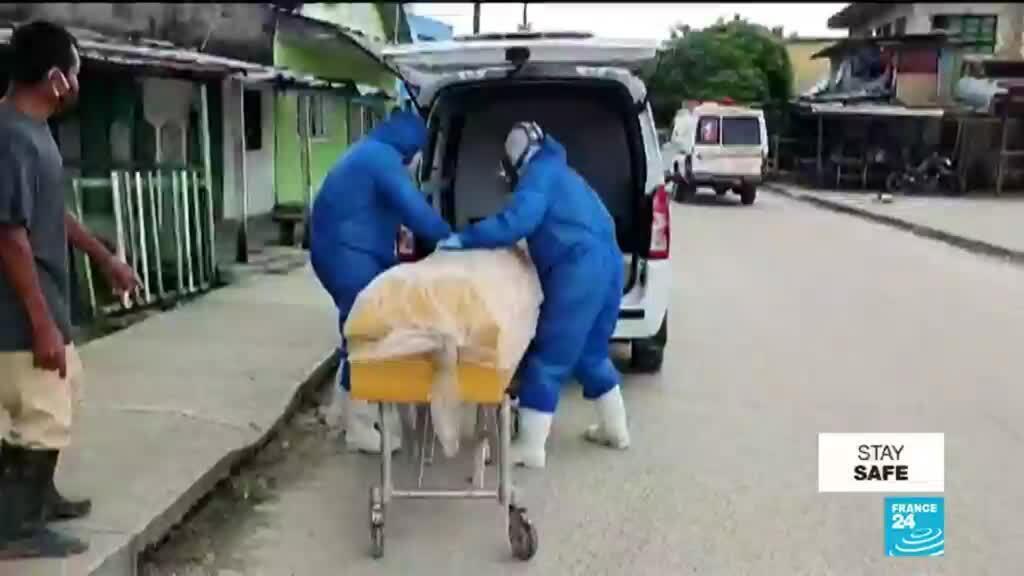 2020-05-15 11:07 Colombia orders coronavirus lockdown near Brazil border after case spike