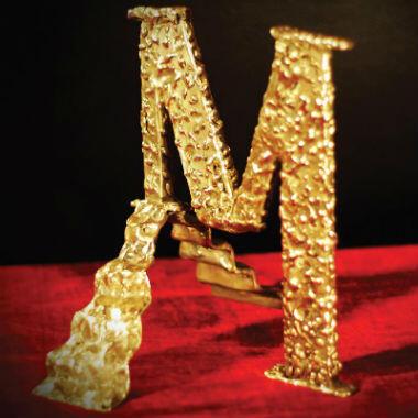 Photo du trophée en bronze qui sera remis aux gagnants des Mokhtar awards lors de la cérémonie du 22 décembre.