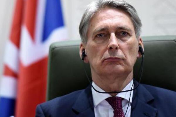 وزير الخارجية البريطاني فيليب هاموند