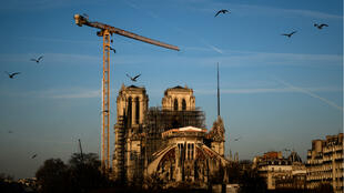Notre-Dame Cathedral on January 6, 2020.