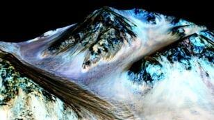 La Nasa a acquis la certitude que de l'eau était présente sur la planète Mars.