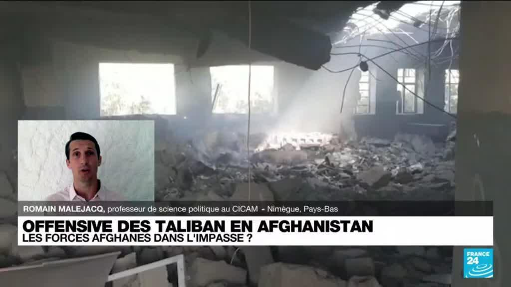 2021-08-11 17:03 Afghanistan : Les taliban s'emparent d'une huitième capitale provinciale en six jours
