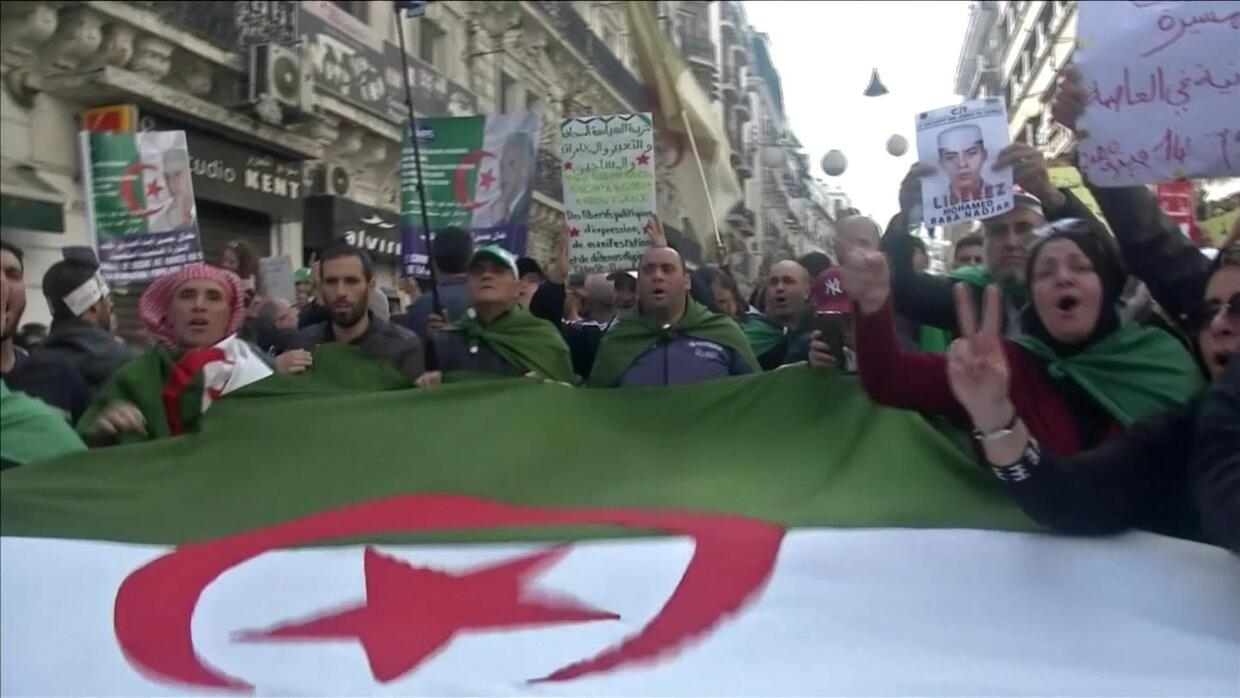 Eye on Africa - Algerians mark one year of protests with fresh demonstrations