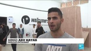 2021-01-27 10:13 In Gaza, parkour brings youngsters a taste of freedom
