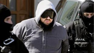 Mohamed Achamlane lors de son arrestation en mars 2012.