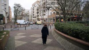 Le quartier du Port, à Créteil, jeudi 4 décembre 2014.