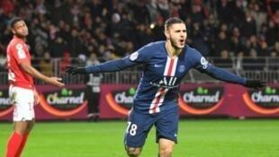باريس سان جرمان يعود بفوز صعب من بريست