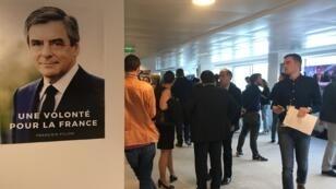François Fillon a rassemblé 19,7 % des voix au premier tour de la présidentielle, selon des estimations Ipsos.