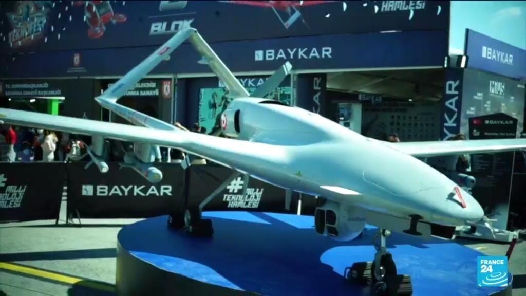 Salon aéronautique en Turquie : les drones, nouvelle arme phare de l'armée turque