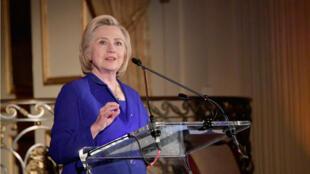 La no participación de Hillary Clinton en las presidenciales de 2020 descarta la posibilidad de un nuevo enfrentamiento con el actual presidente, Donald Trump. Archivo.