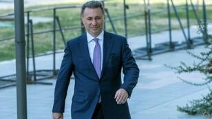 Former Macedonian Prime Minister Nikola Gruevski (pictured October 2018), a former strongman close to Hungary's Prime Minister Viktor Orban, fled to Budapest in November 2018 to escape a two-year prison sentence for abuse of power