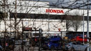 Una fábrica de automóviles del grupo Honda en Swindon, en el suroeste de Inglaterra, en una imagen del 19 de febrero de 2019