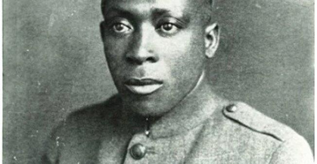 Henry Johnson in uniform.
