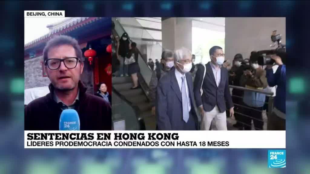 2021-04-16 14:39 Informe desde Beijing: varios líderes hongkoneses prodemocracia encarcelados por protestas