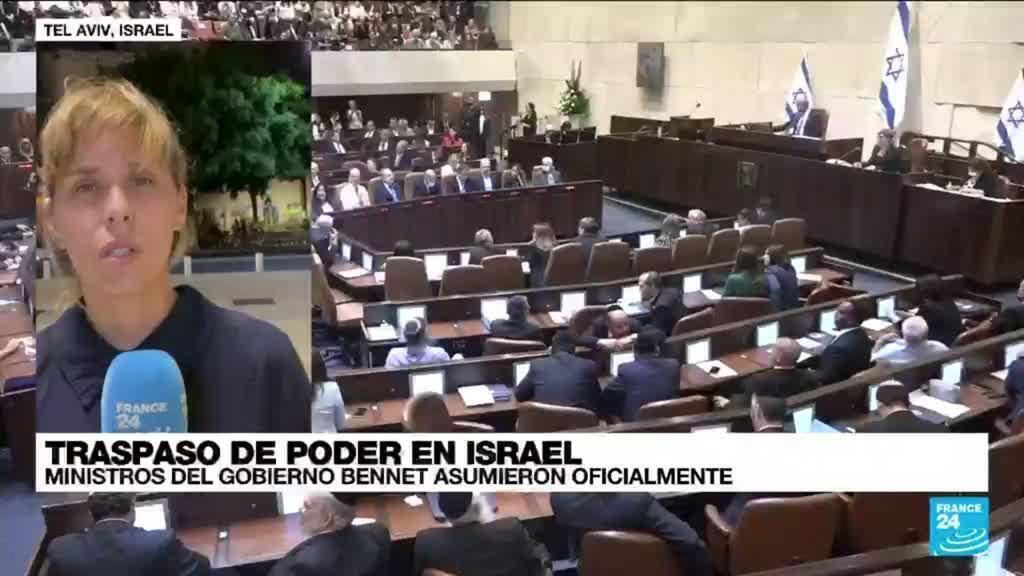 2021-06-15 01:06 Informe desde Tel Aviv: miembros del nuevo gobierno israelí asumieron sus cargos oficialmente