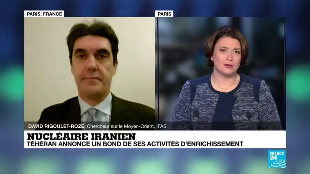 2021-04-13 22:03 Nucléaire iranien, Téhéran annonce un bond de ses activités d'enrichissement
