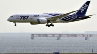 Un Boeing 787 Dreamliner de la compagnie All Nippon Airways