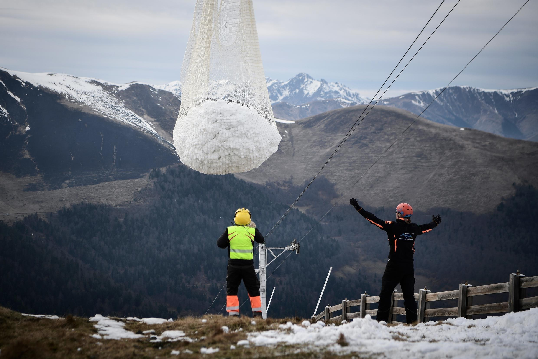 Snow Pyrenees
