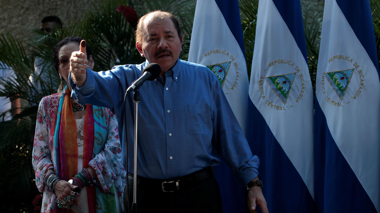Discurso del presidente Daniel Ortega en Managua, tras haber votado en las elecciones municipales de Nicaragua este pasado domingo. 11/05/2017