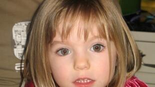 Archivo: Fotografía de la niña británica Madeleine McCann, desaparecida el 3 de mayo de 2007, en Portugal.