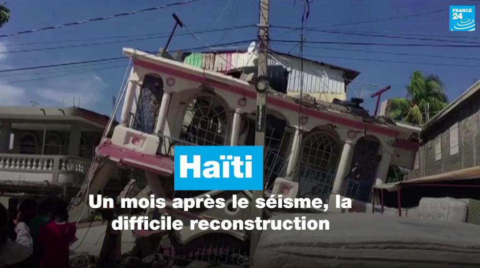 Haïti : un mois après le séisme, la difficile reconstruction