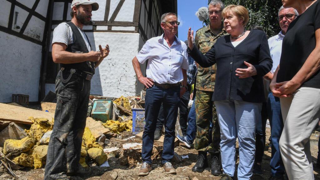 ألمانيا: الفيضانات تسببت في خسائر قد تكلف شركات التأمين خمسة مليارات يورو